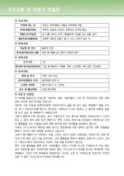 백화점 자기소개서(한화갤러리아) 상세 미리보기 1페이지