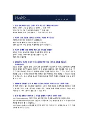 패션 VMD 자기소개서(이랜드)_신입 상세 미리보기 1페이지