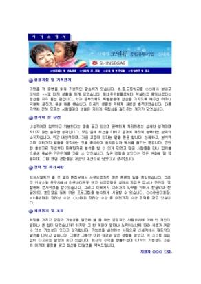 판매 자기소개서(신세계)_경력 상세 미리보기 1페이지