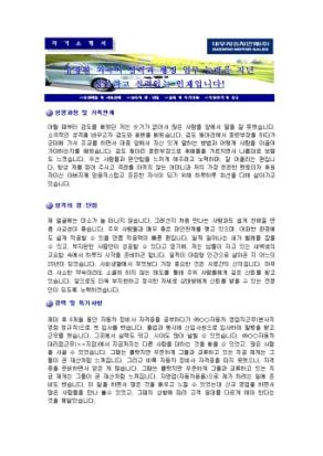 국내영업 자기소개서(대우자동차판매)_경력 상세 미리보기 1페이지