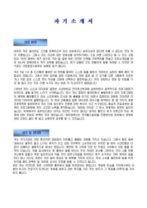 네트워크 프로그래머 자기소개서_경력 상세 미리보기 1페이지