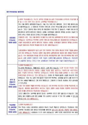대우인터네셔널 해외영업 자기소개서 상세 미리보기 1페이지