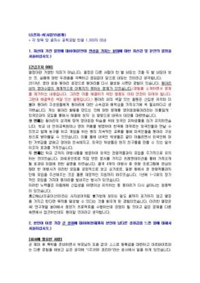 LG전자 AE사업부(설계) 자기소개서 상세 미리보기 1페이지