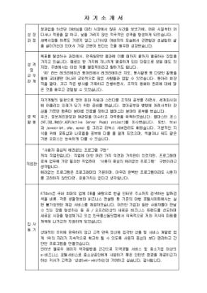 영업 자기소개서(기아자동차)_경력 상세 미리보기 1페이지