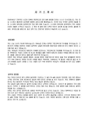 일반사무직 자기소개서 샘플(비서경험)_경력 상세 미리보기 1페이지