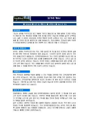 고객상담 자기소개서(한국투자증권)_신입 상세 미리보기 1페이지
